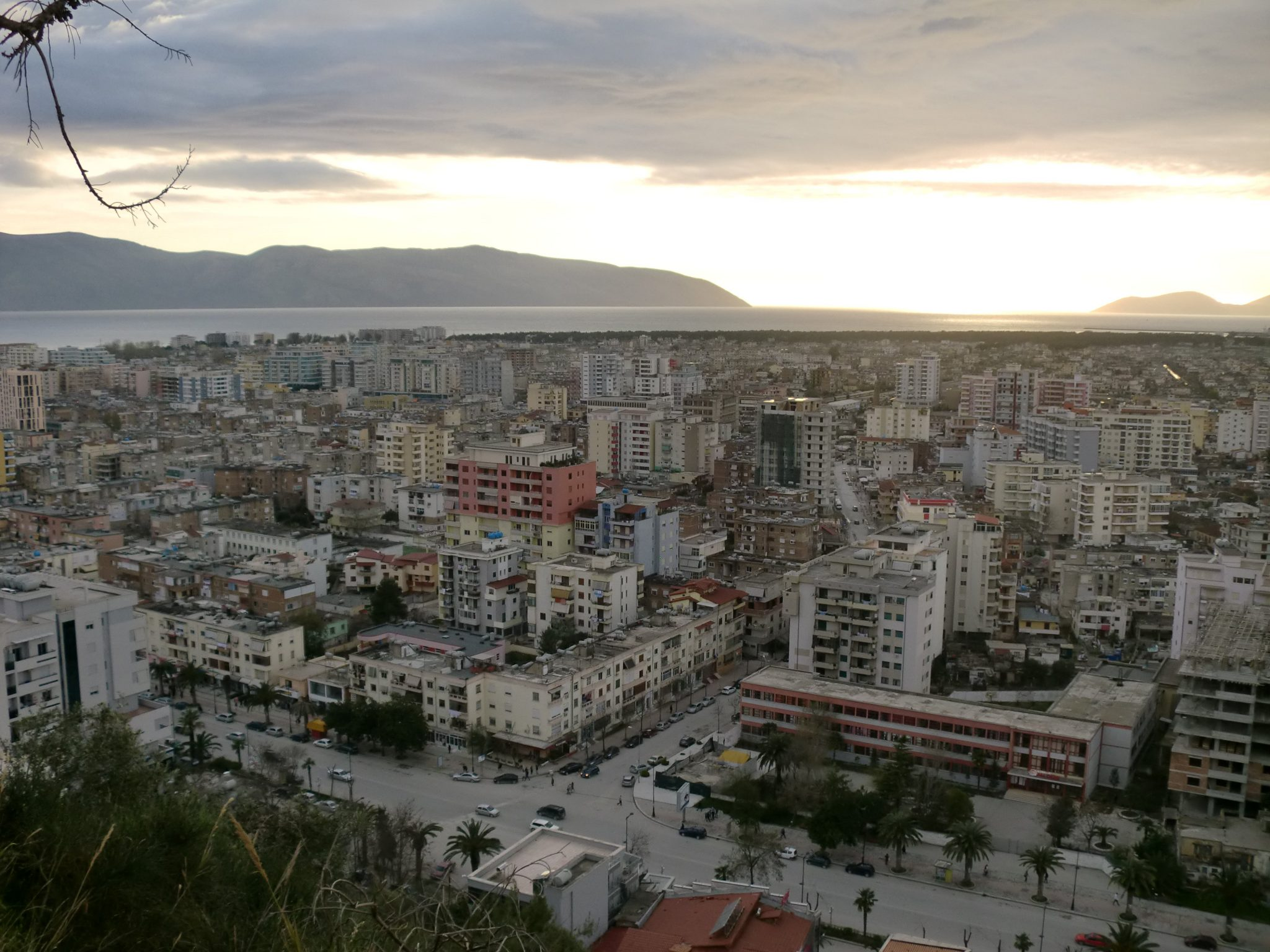The ancient city of Vlora