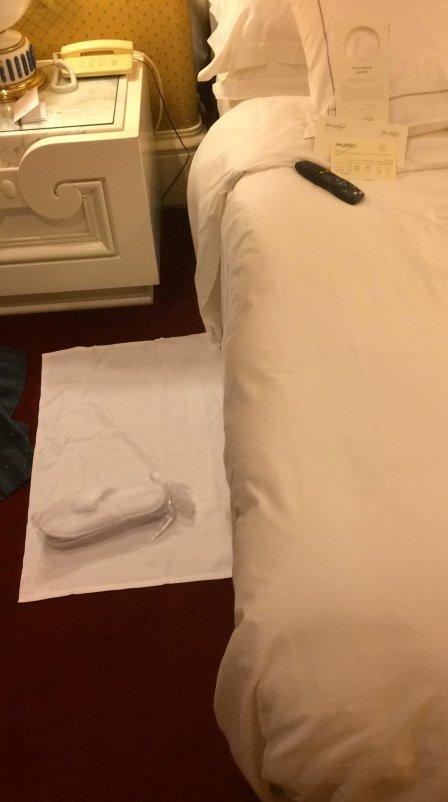 hotel amenities list