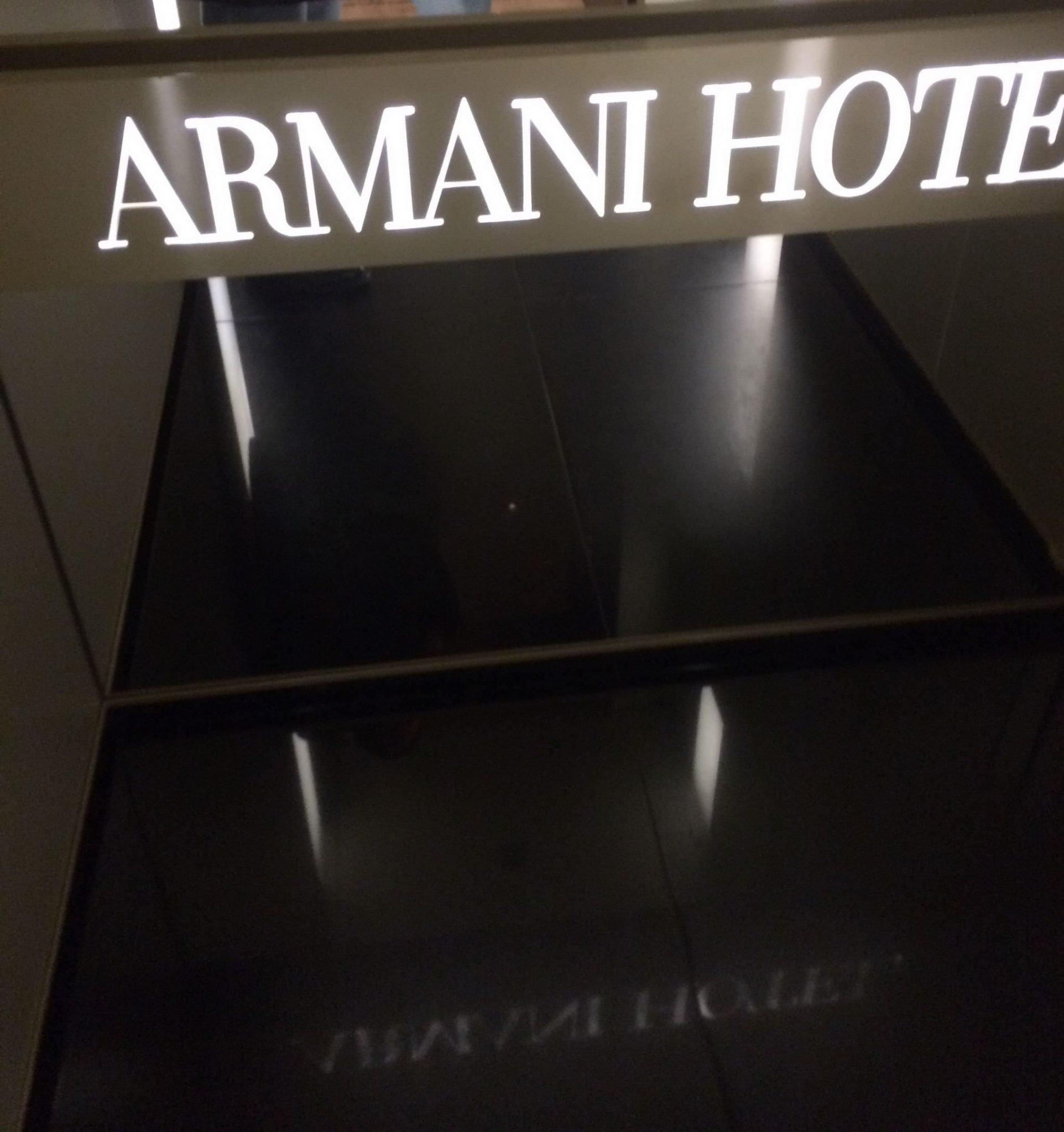 Armani Milan: a trendy drink