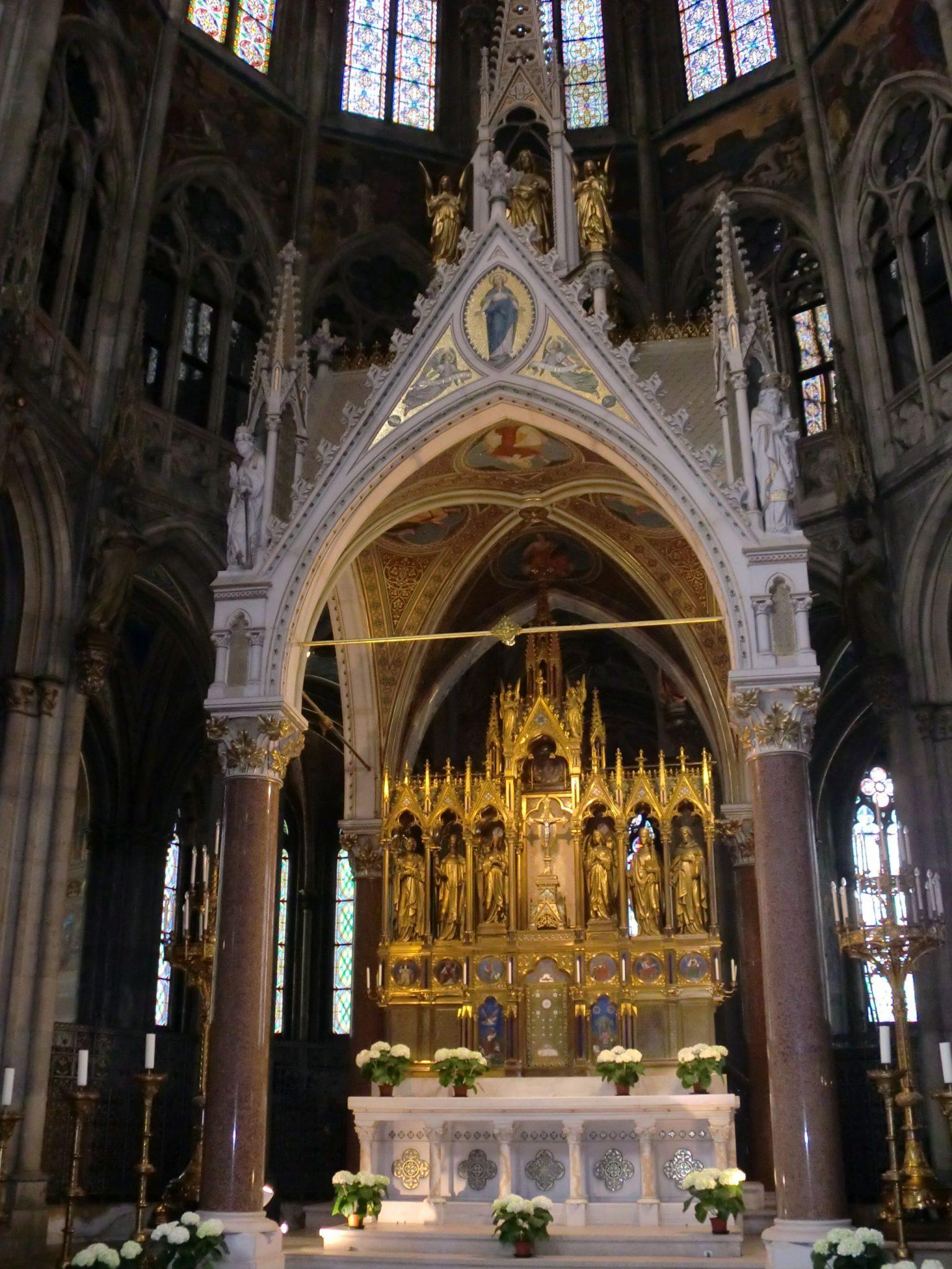 Vienna cathedral 20 1440x1920 - Vienna: elegant beauty