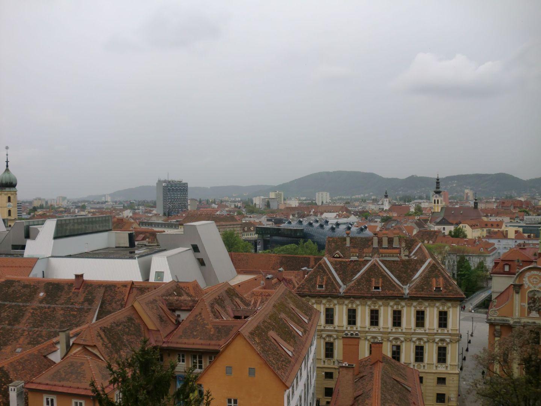 Graz view 1 - Graz: tradition and modernity