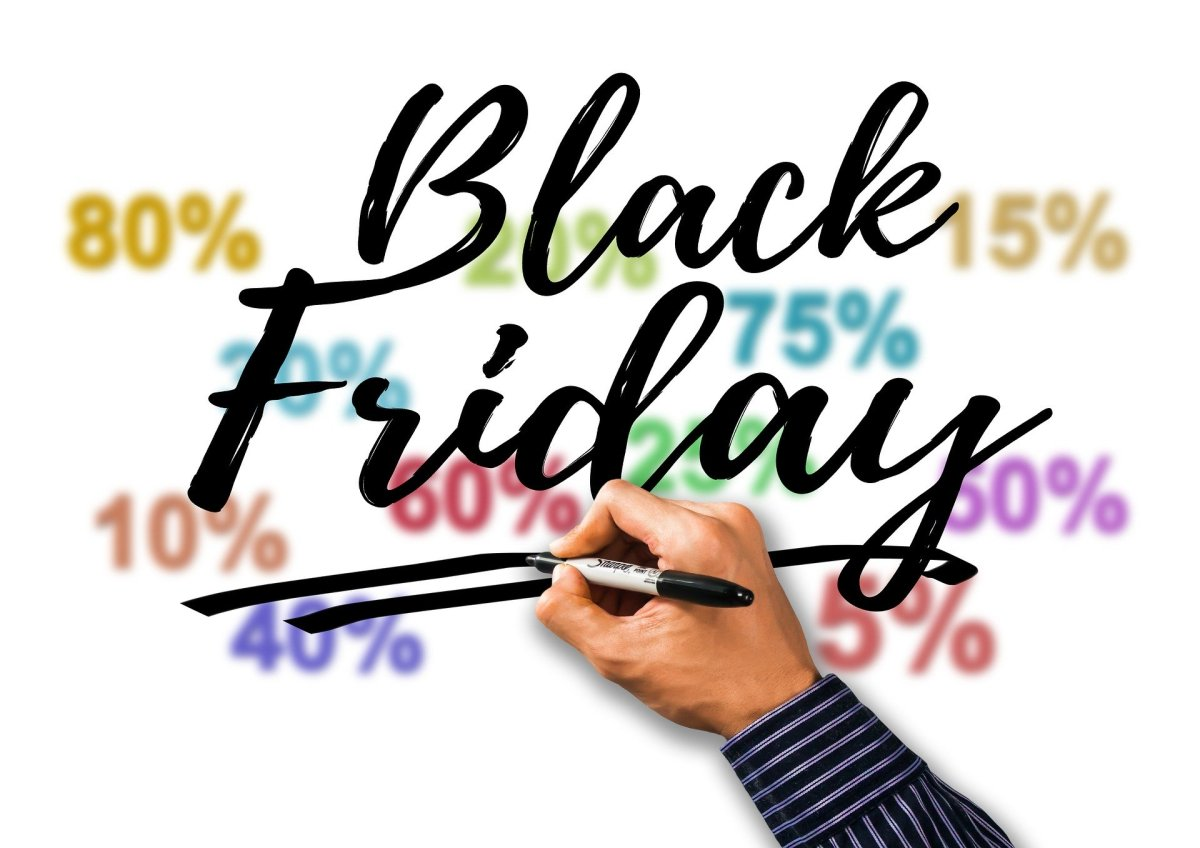 Black Friday and Cyber Monday travel deals percentage