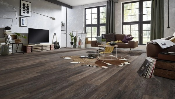 Vinyl Bodenbelag zum klicken_Project Floors Click Collection PW 4023