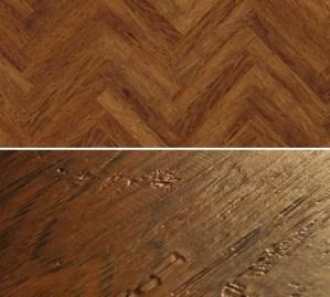 Vinylboden zum kleben im Fischgrät Design Project Floors Fischgrät PW3055HB