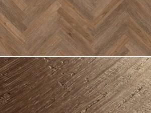 Vinylboden zum kleben im Fischgrät Design Project Floors Fischgrät PW3610HB