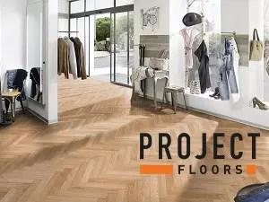Vinyl Bodenbelag zum kleben Project Floors Fischgrät