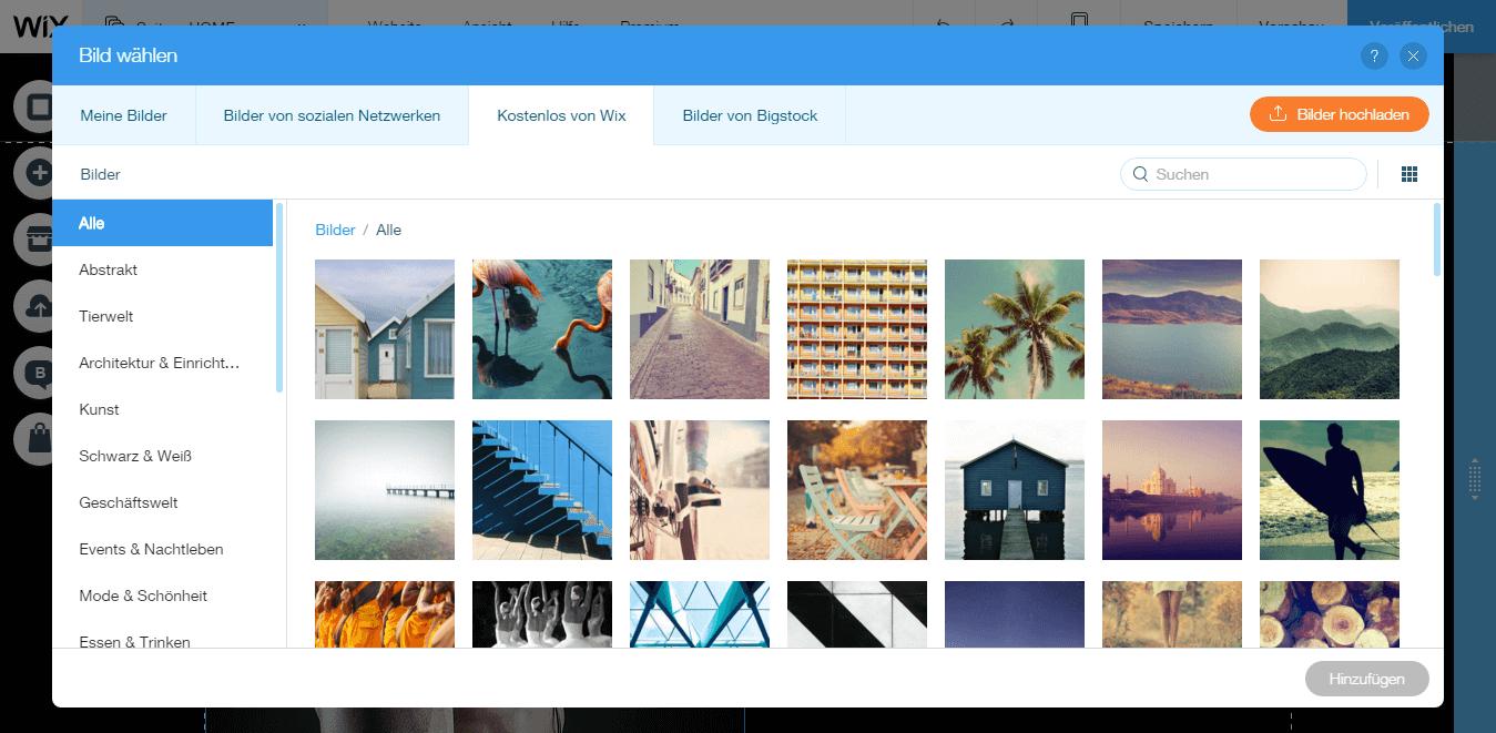 kostenlose Bilddatenbank von Fix