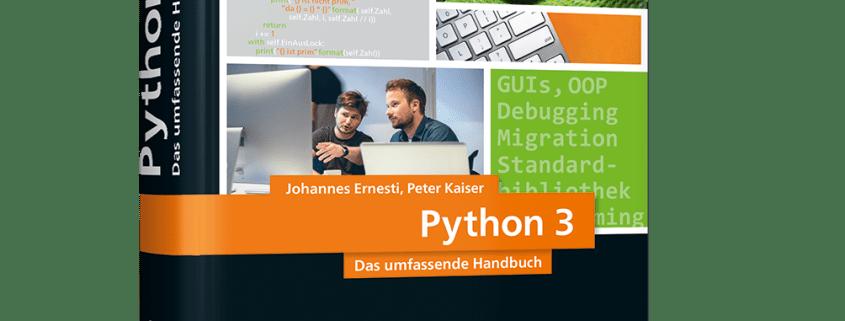 Python 3 - das umfassende Handbuch - Buchtipp