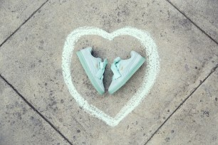 PUMA Suede Heart NT$2980湖水綠