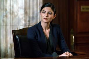 """CHICAGO JUSTICE -- """"Judge Not"""" Episode 105 -- Pictured: Monica Barbaro as Anna Valdez -- (Photo by: Parrish Lewis/NBC)"""