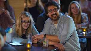 """Holly Hunter as """"Beth"""" and Ray Romano as """"Terry"""" in THE BIG SICK. Photo by Nicole Rivelli."""