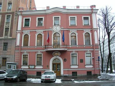 консульство Чехии в Cанкт-Петербурге