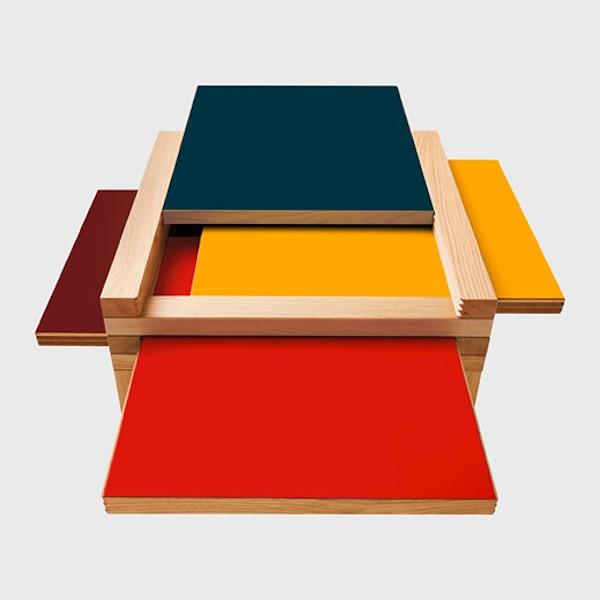 Multicolor Coffee Table