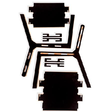 chaise-design-montage-sans-outil