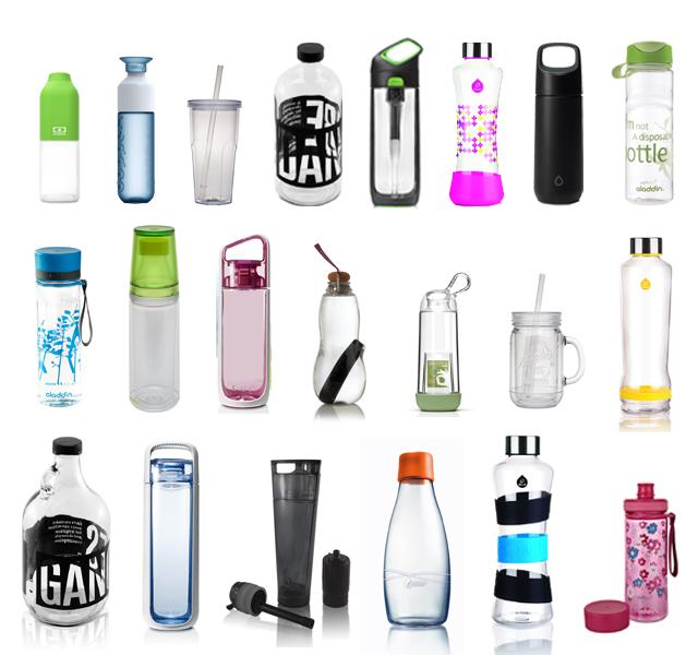 C'est l'été, optez pour la bouteille réutilisable pour vous hydrater