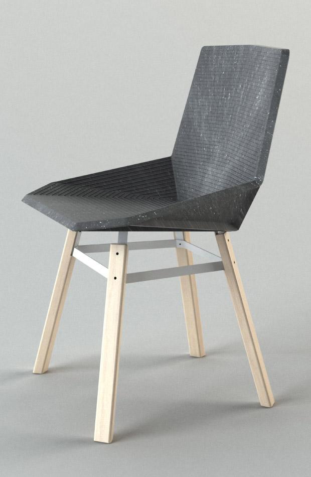 Green chair une chaise design et cologique pour les - Prix pour rempailler une chaise ...