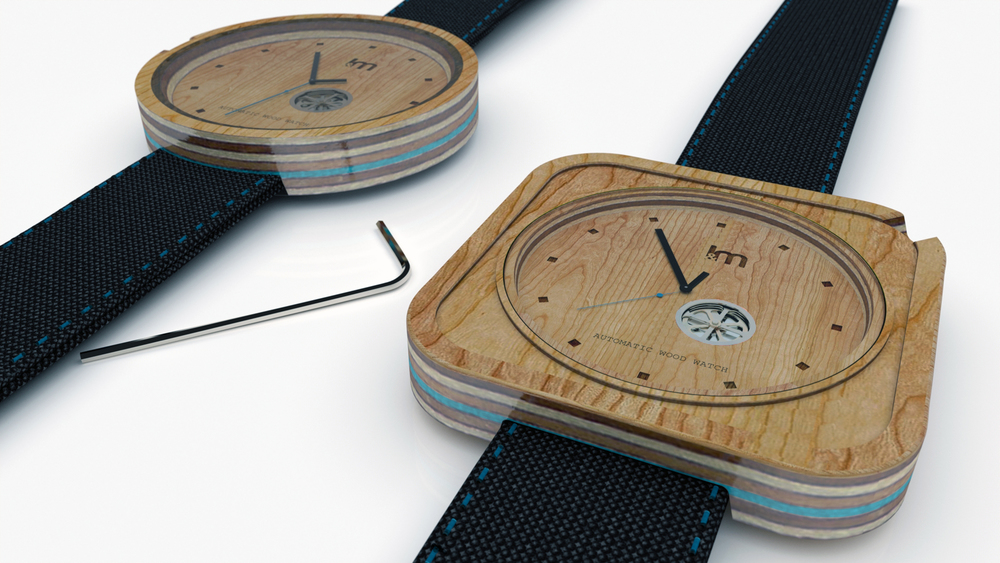 montre-bois-skateboard-recycle
