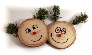 Rustikale Weihnachtsideen