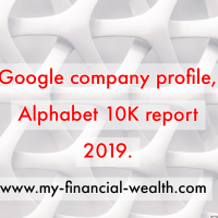 Google company profile, Alphabet 10K report 2019.
