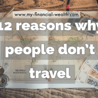 12 reasons why people don't travel