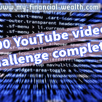 100 YouTube videos challenge completed