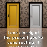 Look closely at the present you're constructing