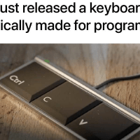 Keyboard specifically made for programmers