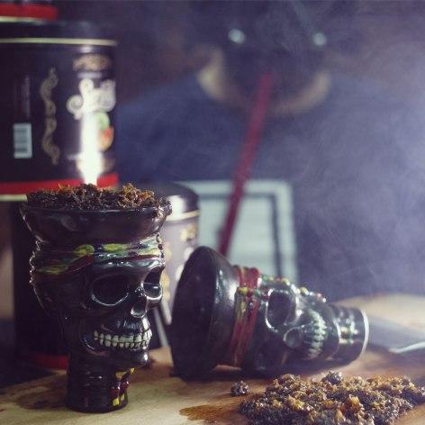Чаши для кальяна в виде черепа