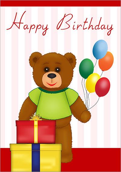 1st Birthday Cards Free Printable : birthday, cards, printable, Printable, Birthday, Cards