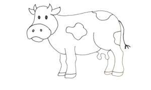 draw cow caw