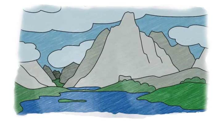 How to Draw Mountains – Images
