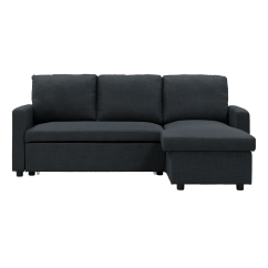 Sofa Bed Malaysia Murah Material For Cats Buy Beds Online In Hipvan Mia L Shape With Storage Carbon Image 1