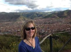 Overlooking Cusco from 13,000
