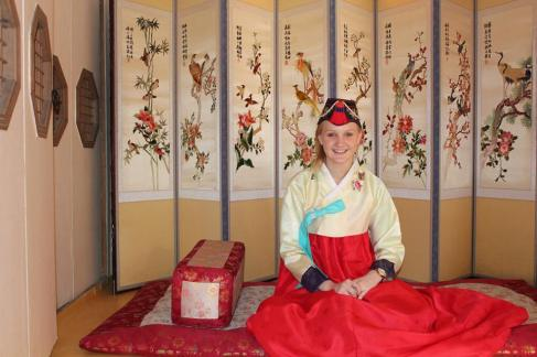 Lady Annelise Can't wait to see Alex Cantrell in her Hanbok dress when she visits