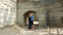 We made it about 50% of the way up to a defensive wall where we turned around.