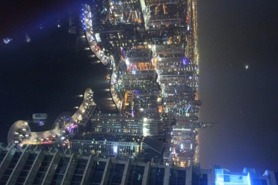 Dubai Marina from top of Marriott