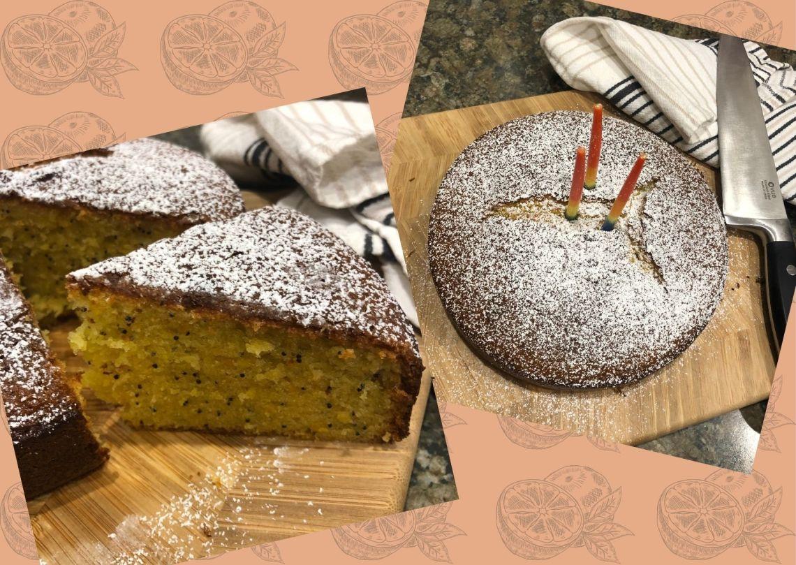 Gluten-free Orange and Poppyseed Cake Recipe