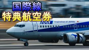 ANA特典航空券を取得しました!