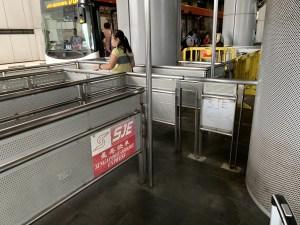 SJE バス搭乗口