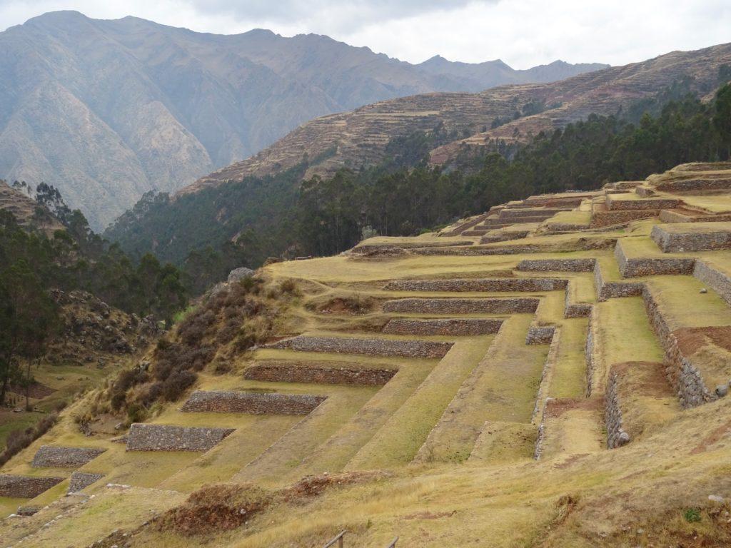 Site Inca Chinchero au Pérou