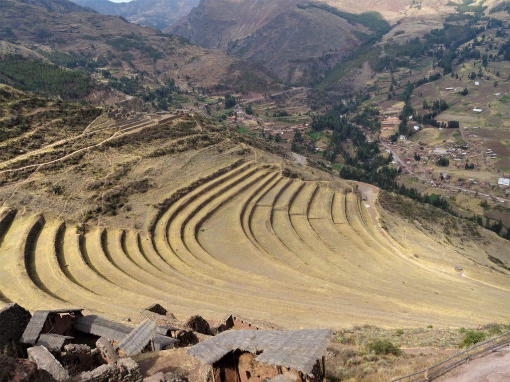 Site de Pisac au Pérou