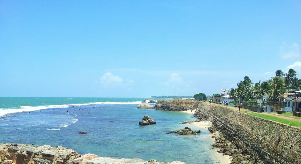Ville de Galle au Sri Lanka