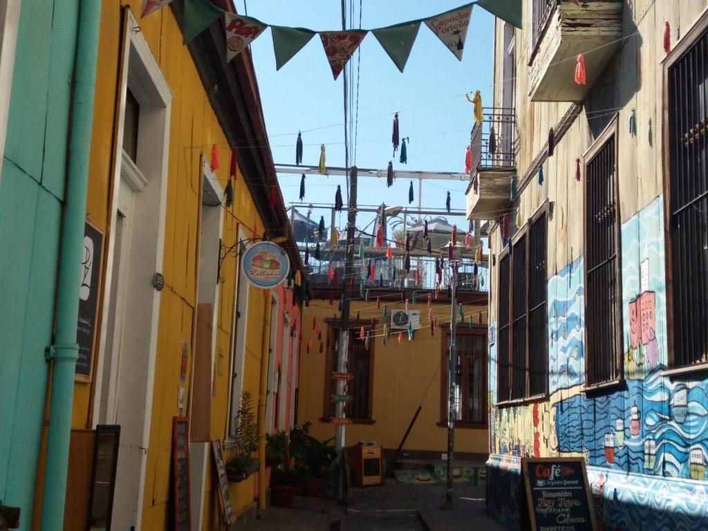 Rues  Valparaiso