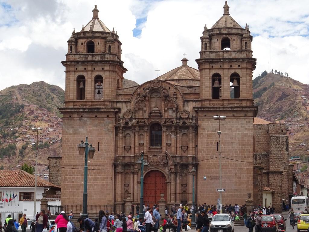 Centre ville Cuzco au Pérou