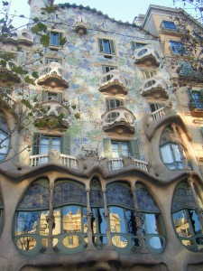 Casa Batlo à Barcelone