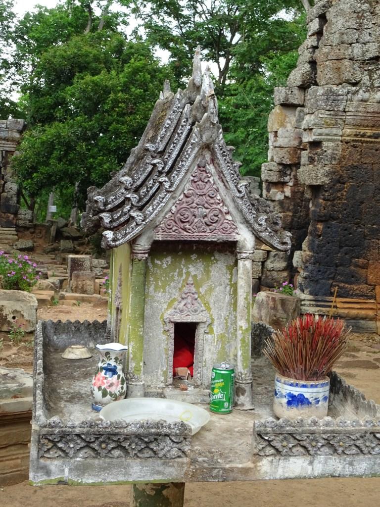 Temple Banan à Battambang