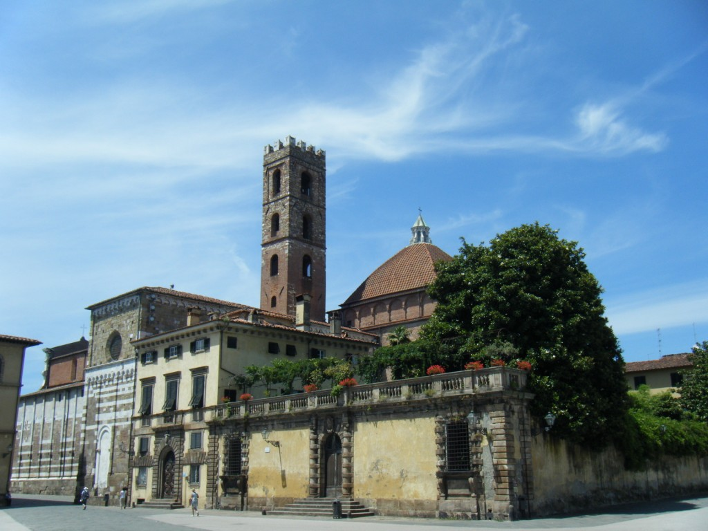 A vélo  Lucques en Toscane