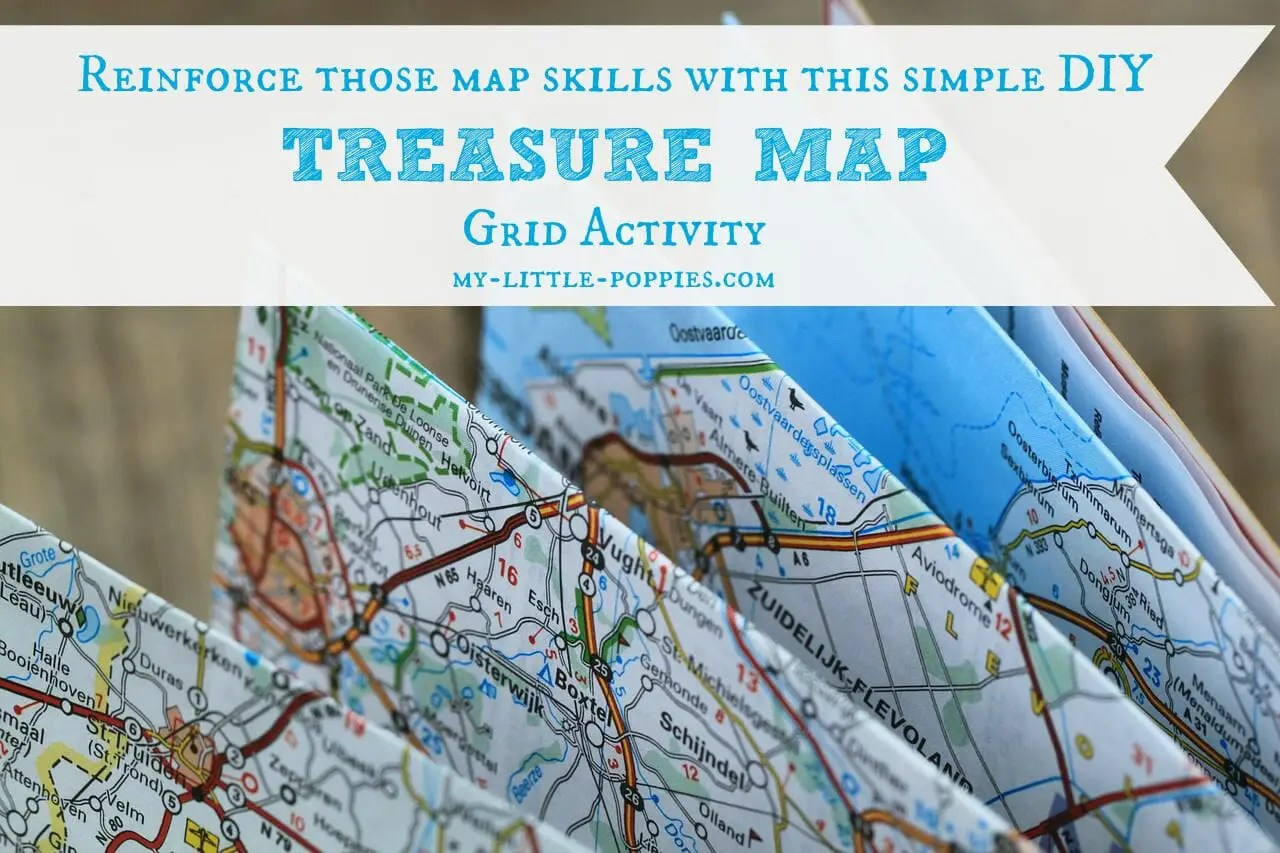 Treasure Map Grid Activity