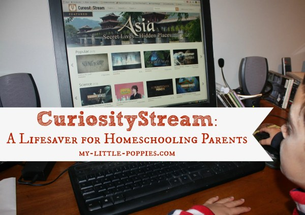 Curiosity Stream Lifesaver Homeschooling Parents