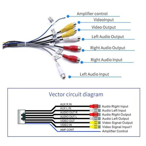 small resolution of rca module wiring diagram wiring diagram name car stereo wiring harness electronic rca audio cable 35mm